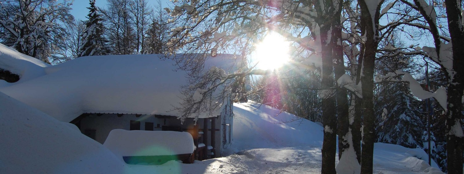 Baita Biaena in inverno